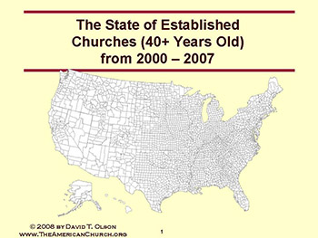 State of Established Churches from 2000-20007 Free Download